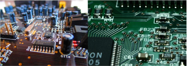 Photos de 2 composants électroniques