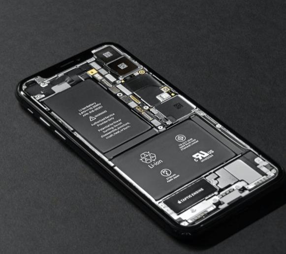 photo d'un téléphone ouvert