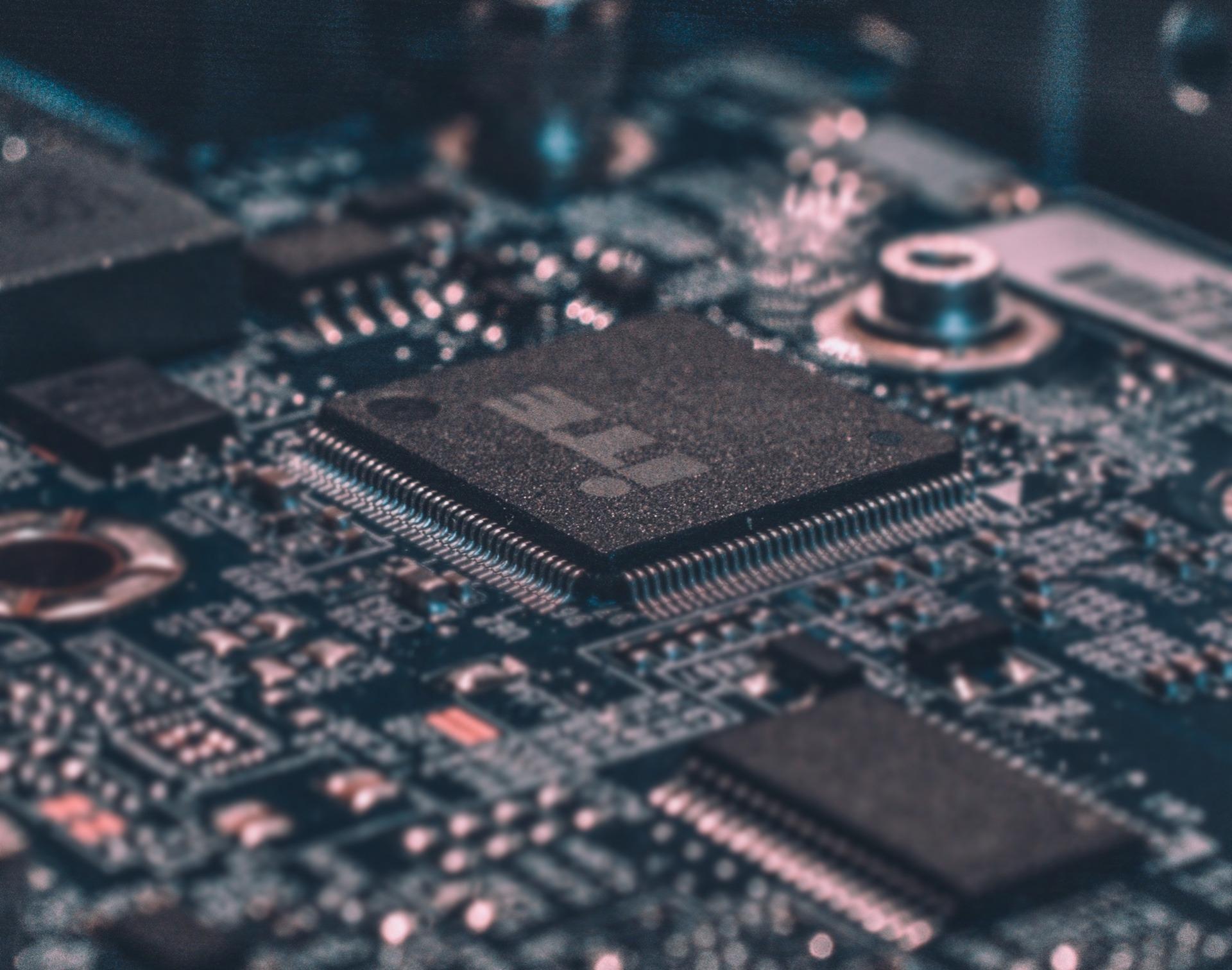 photos d'un composant électronique
